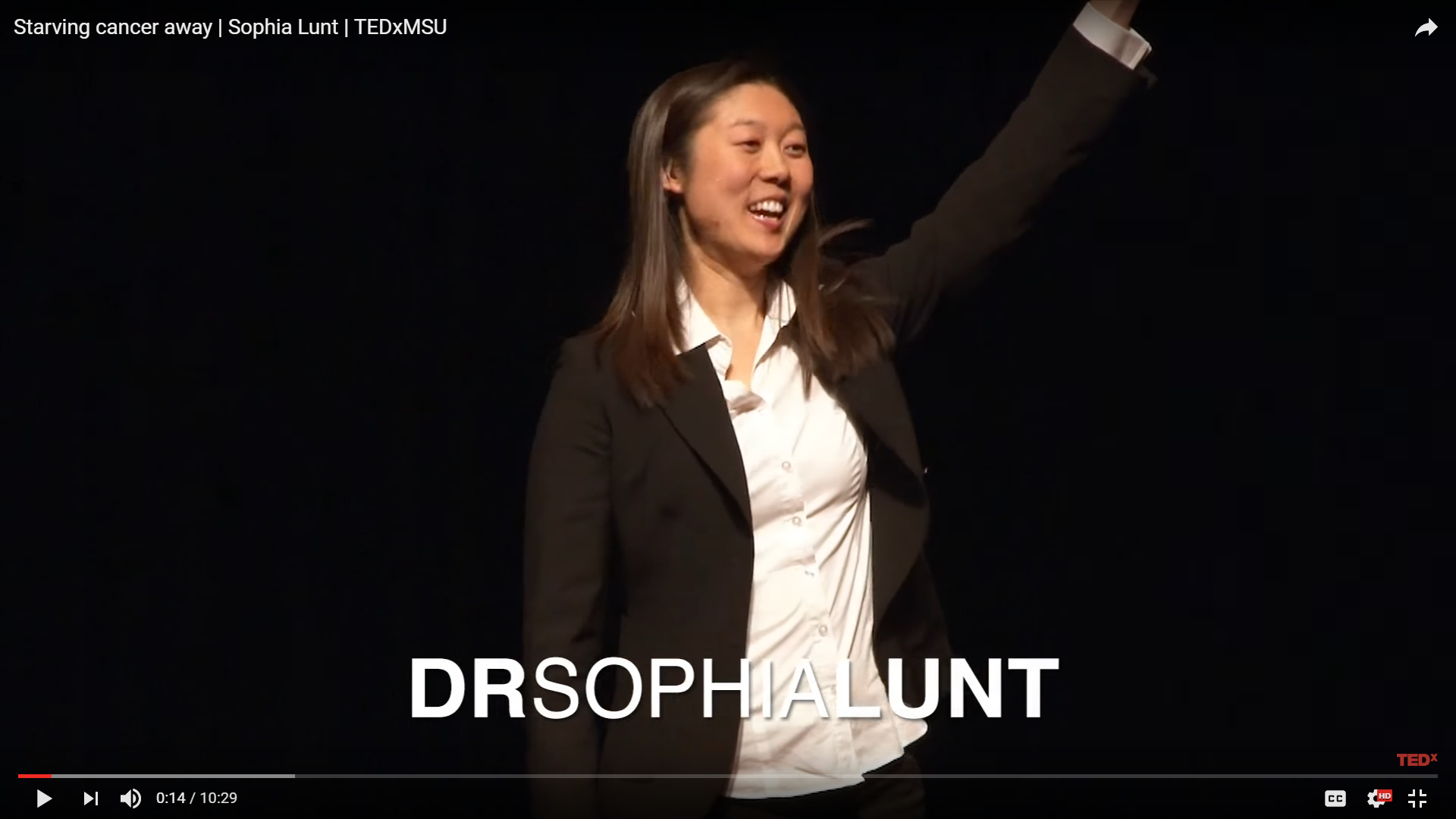 Dr. Lunt gives TEDx talk